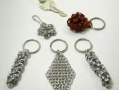 Chain Maille Keychains